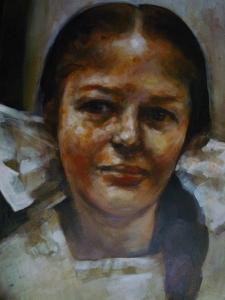 Martijn de Boer - Meisje met Witte Strik