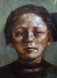 Meisje met Strik - 17032015