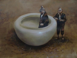 Hard Labour - Bowl and two boys - 25092015