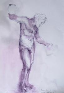 Dancing Satyr 2 (Study)