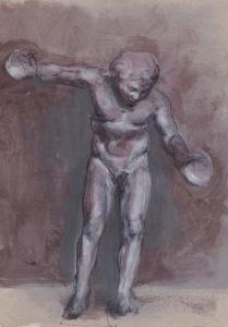 Dancing Satyr (Study)
