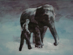 The Elephant Trainer (Study)