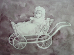 Baby Carriage (Study)