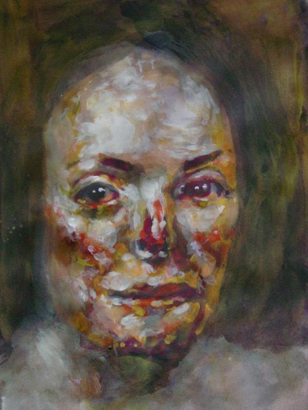Burned Face (Study)