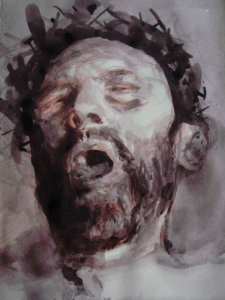 Christ The Tormented 3 (Study)