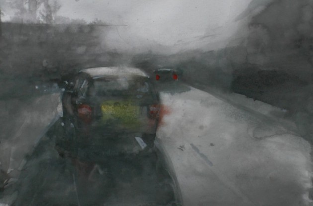 Parked Car - 14022019 (30 x 42)