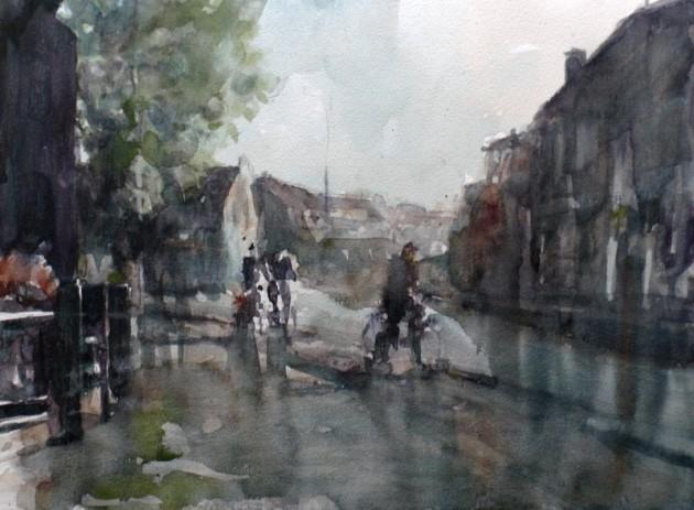 Korvelplein in de Regen - Tilburg - 10052019 (30 x 40)