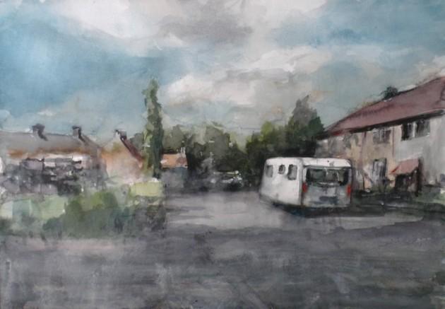 Caravan in de Isaac da Costadreef - Goirle - 10072019 (30 x 42)