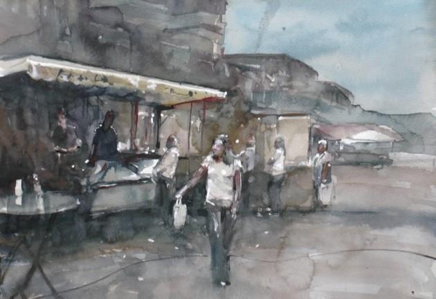 Markt Wagnerplein Tilburg - 02092019 (30 x 40)