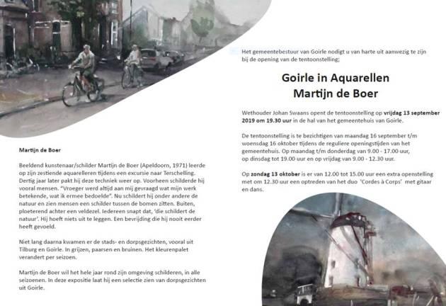 uitnodiging Martijn 13 sept 2019 - Gemeentehuis Goirle