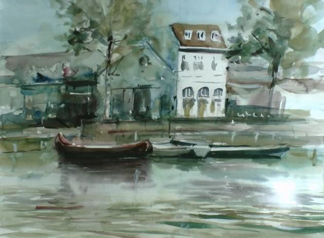 Zicht op Burgemeester Jansen - Piushaven Tilburg - 02092019 (30 x 40)