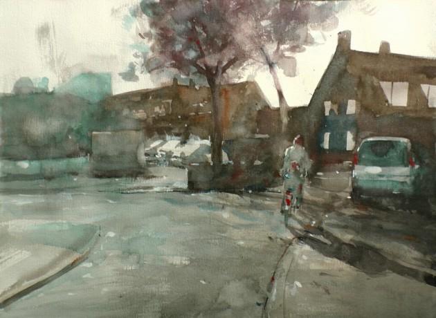 Oranje Vrijstaatplein - Tilburg - 30102019 (30 x 40)