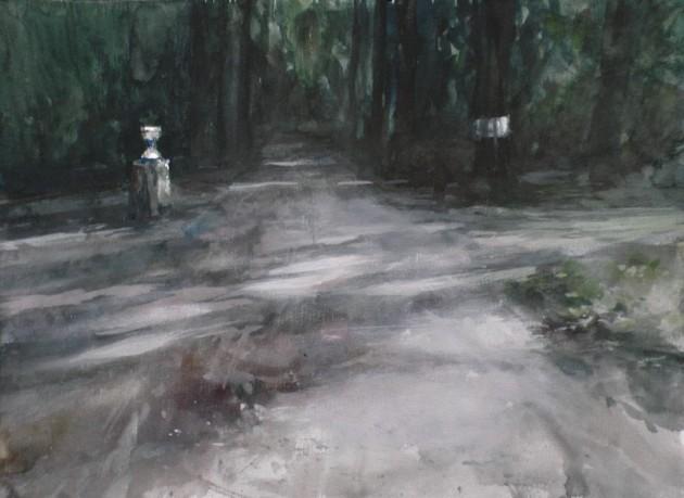 Pad naar de Nieuwe Hoef - Gorp en Roovert - 11102019 (30 x 40)