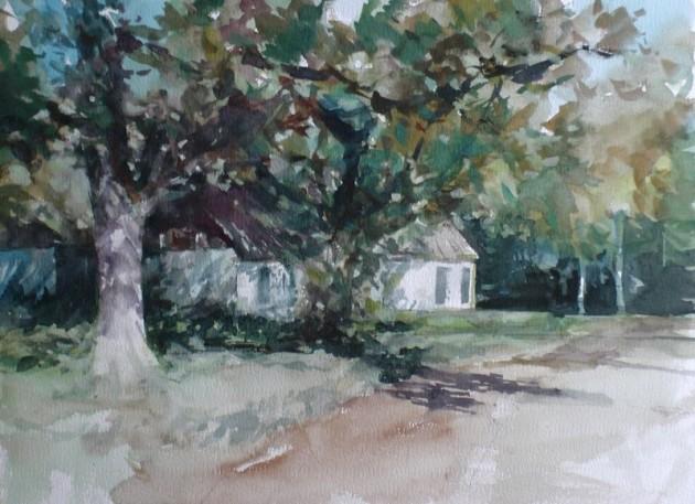 Boerderij aan de Hoogeindseweg, Goirle - 13112019 (30 x 40)